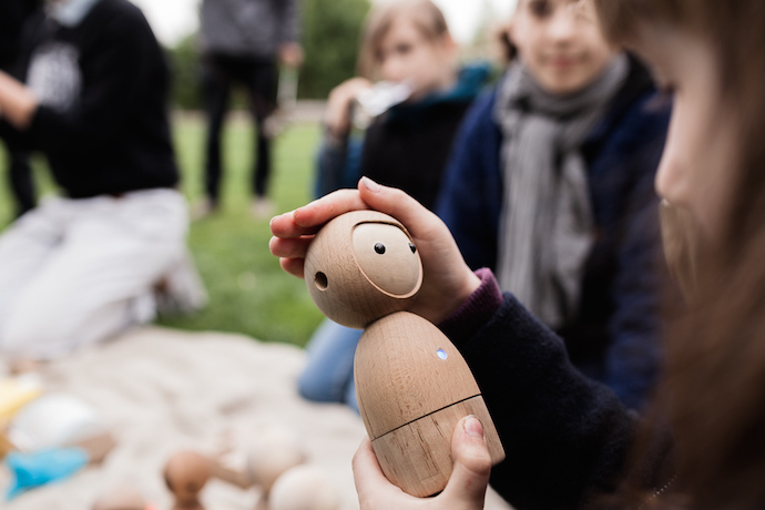 Avakai dolls: beautiful handmade wooden toys with a magical tech twist
