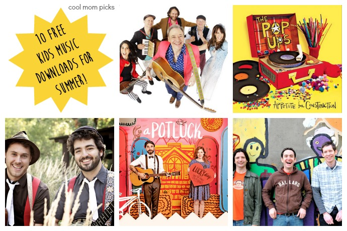 Free kids' music! 10 songs for summer, ready for download.