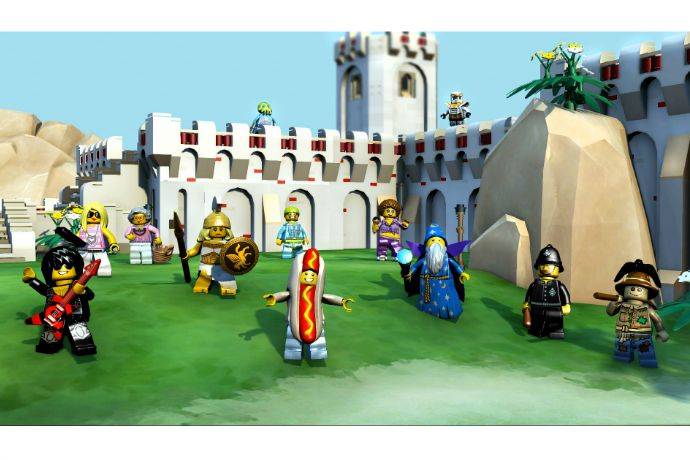 The new LEGO Minifigures Online game, where everything is (mostly) awesome