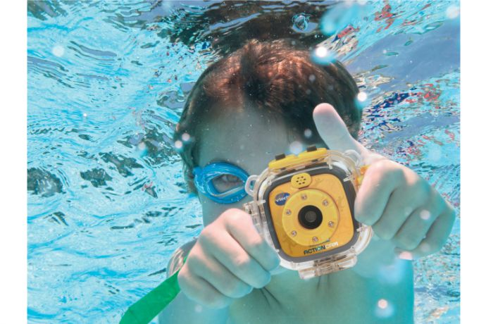 Capture the action of summer with the new VTech Kidizoom Action Cam for kids