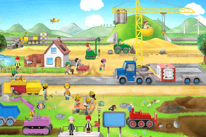 Tiny Builders construction app: All the fun of digging and excavating without the travel delays