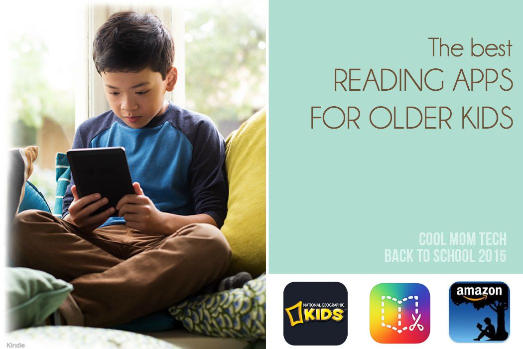 8 of the best reading apps for older kids: Back to School Tech Guide 2015