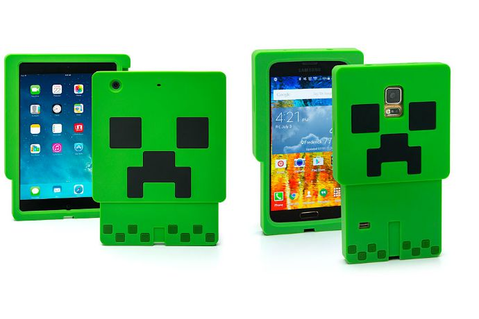 Minecraft cases protect your gadgets with all the strength of obsidian blocks. Well, maybe.