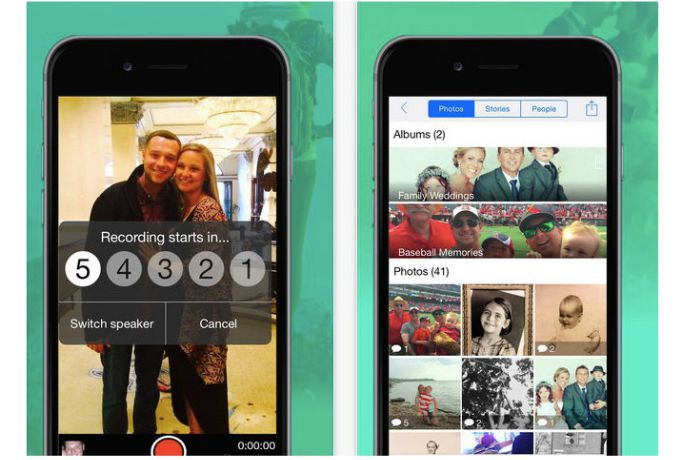 An awesome photo app that helps preserve more than snapshots, it preserves your family stories.