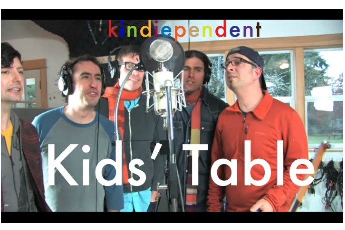 Kids' Table free download for Thanksgiving, from members of Recess Monkey, The Harmonica Pocket, and Johnny Bregar