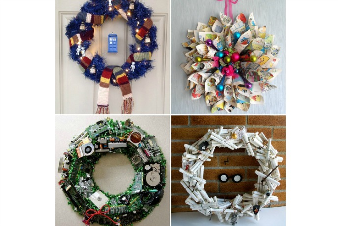 Web Coolness: Geeky holiday wreaths, big Apple rumors, and why you should avoid Internet-connected toys for kids