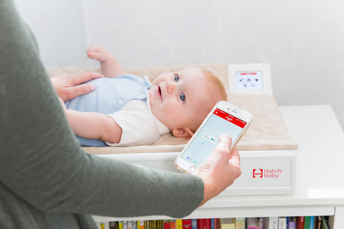 The Hatch Baby smart changing pad: Life-changing new tech? Or way TMI?