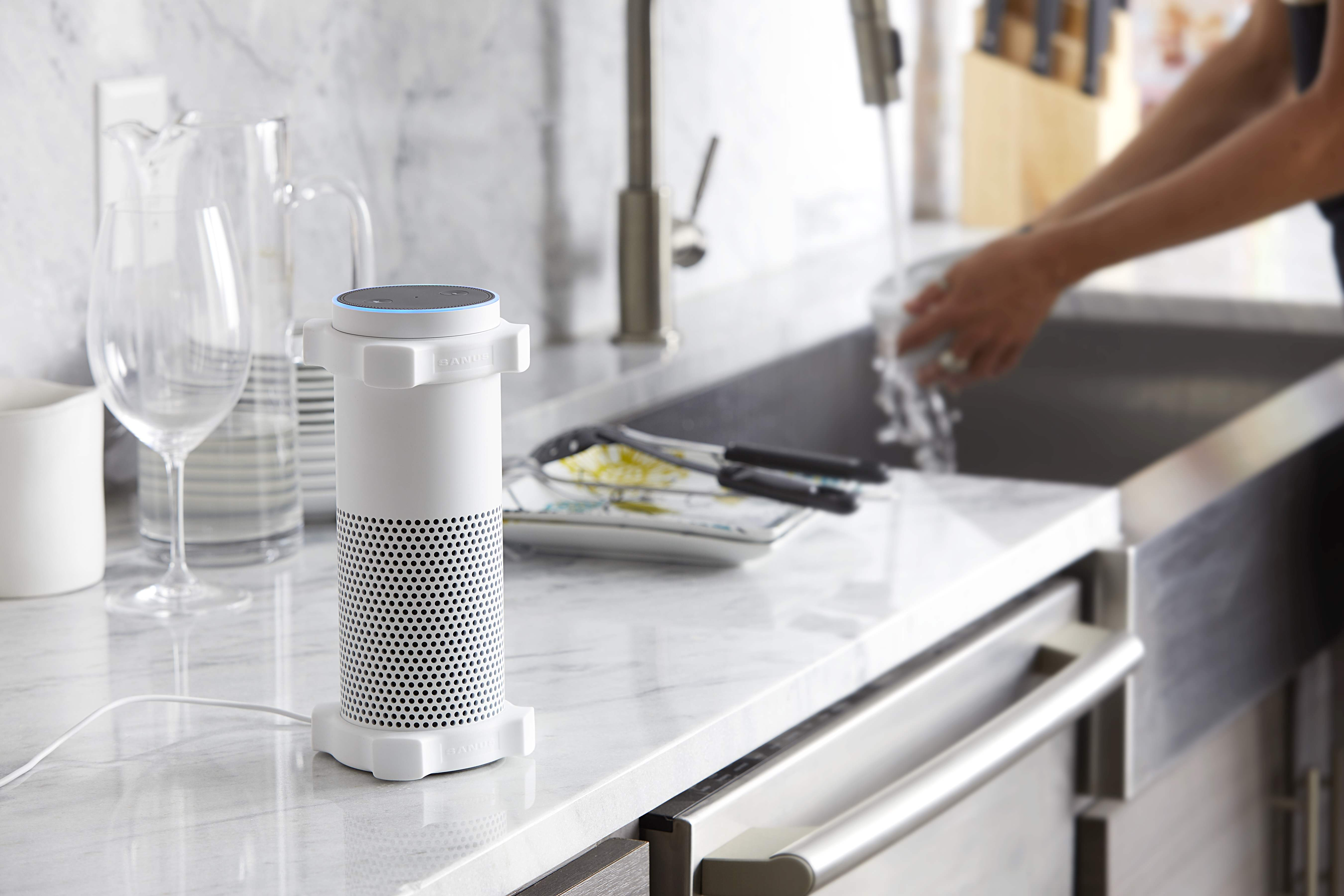 Sanus Amazon Echo bumpers | Sponsor