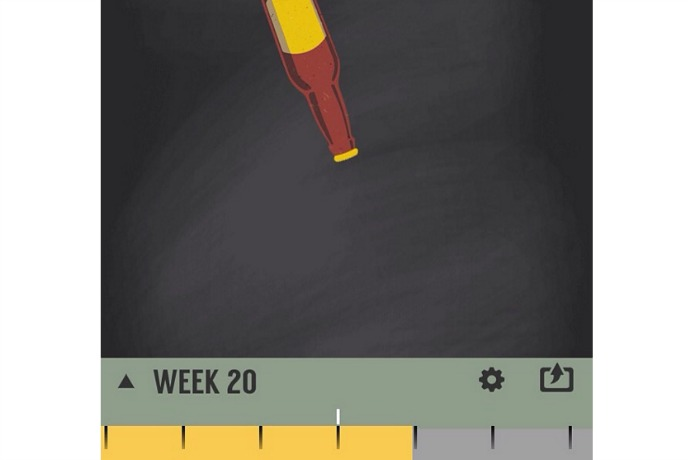Size Me Up app: Pregnancy tracking without all those fruits and veggies.