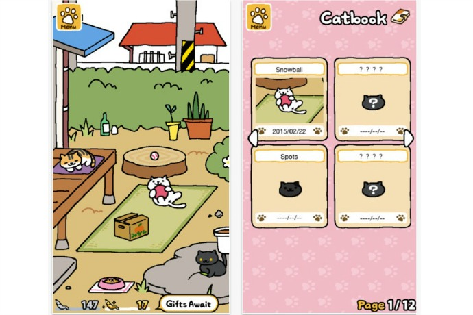 Neko Atsume: Kitty Collector, the cutest app that isn't just for kids | Free app of the week