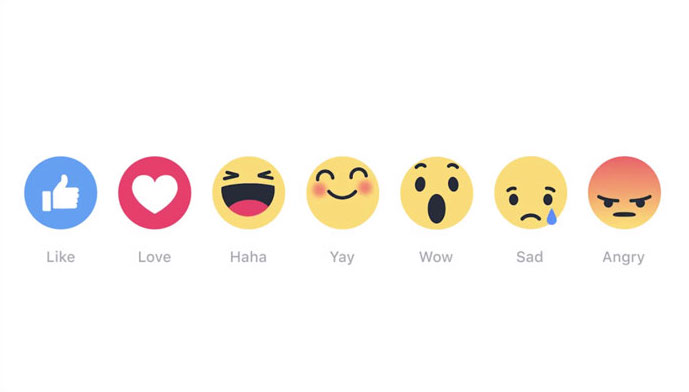How to use Facebook's new reactions emoji. And why we're predictably complaining about it.