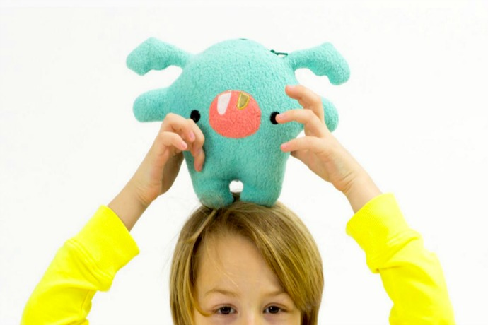 A fun and squeezable way to communicate with your kids when you're away