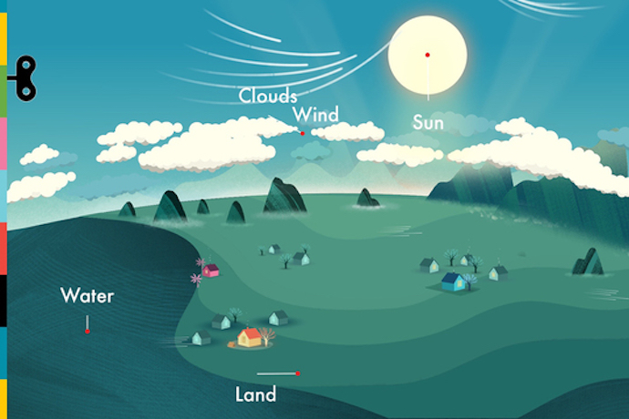 What's the weather like? Find out with TinyBop's beautiful new Weather app for kids.