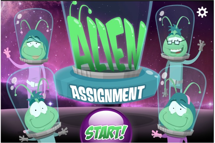 Alien Assignment app for preschoolers: Our cool free app of the week