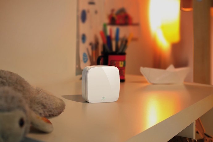 The Eve Room air quality sensor. Because knowing is half the battle.