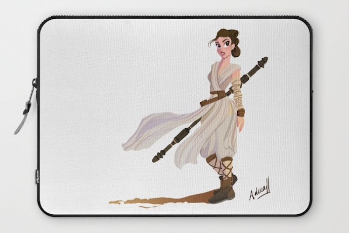 6 super cool Star Wars Rey laptop sleeves. For May the 4th or any day