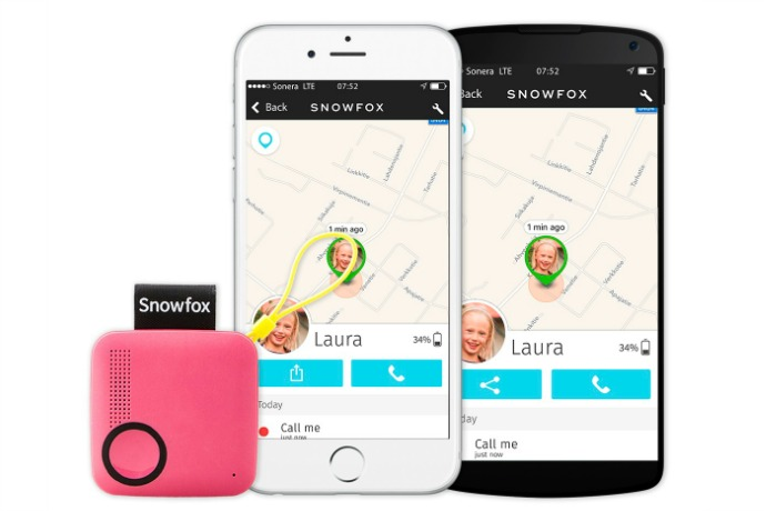Snowfox lets you stay connected with your kids, no screens required