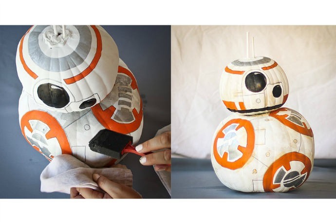 Web Coolness: BB-8 Halloween pumpkin, a hot instant camera, and saving drafts on Instagram. Whoo!