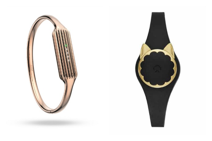 2 new, stylish fitness trackers in glitter and gold. Hello, lover.