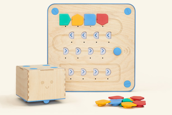 Cubetto: A robot that teaches kids to code, even before they can read. No screens required.