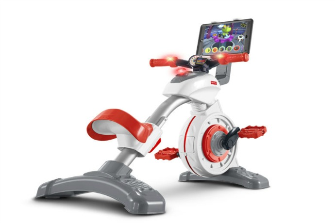 The Fisher-Price Think & Learn Smart Cycle: Give kids exercise while feeding their iPad addiction