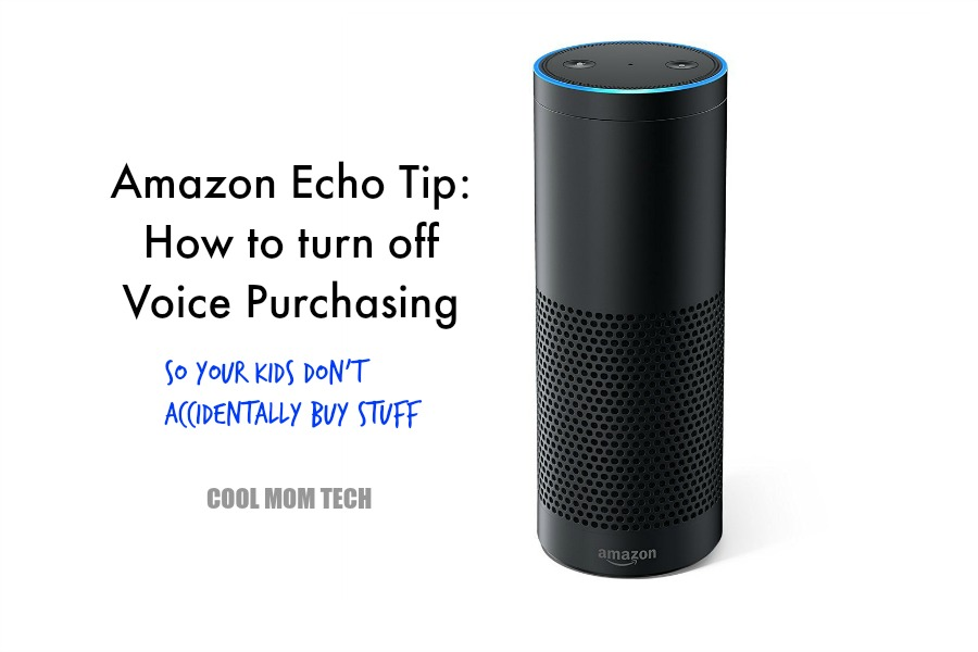 How to turn off Voice Purchasing on the Amazon Echo. So your kids don't accidentally buy dollhouses. And cookies.
