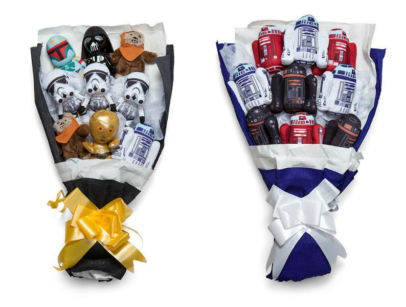 These Star Wars bouquets are what we want for Valentine's Day.