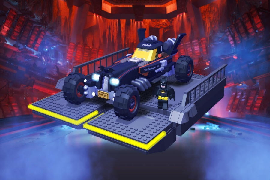 Run, drive, and yes, even DJ like Batman, with the new LEGO Batman Movie app | Sponsored Message