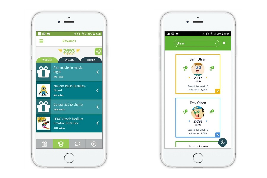 Stridepost: A free chores and calendar app for the whole family. Yep, even the kids.