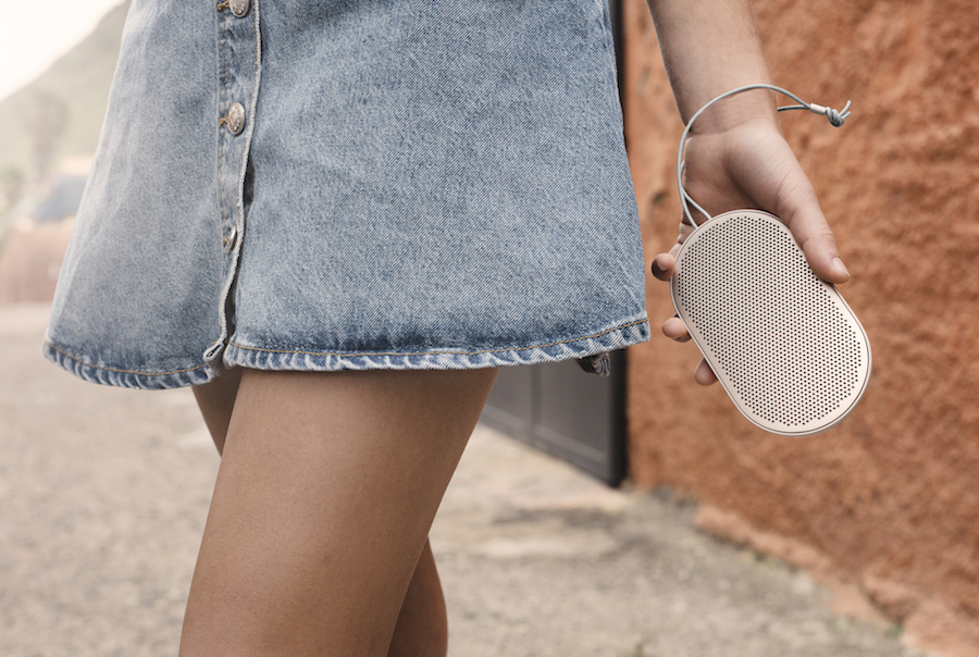 Why the new Beoplay P2 portable speakers just rose to the top of our tech gift wishlists.