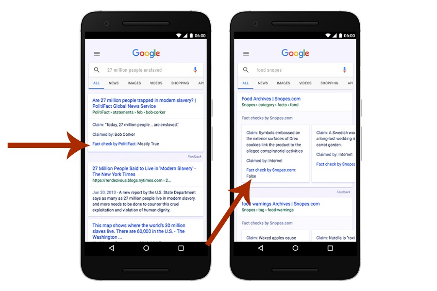 Big (real) news! Fake news gets easier to spot with the new Google Fact Check