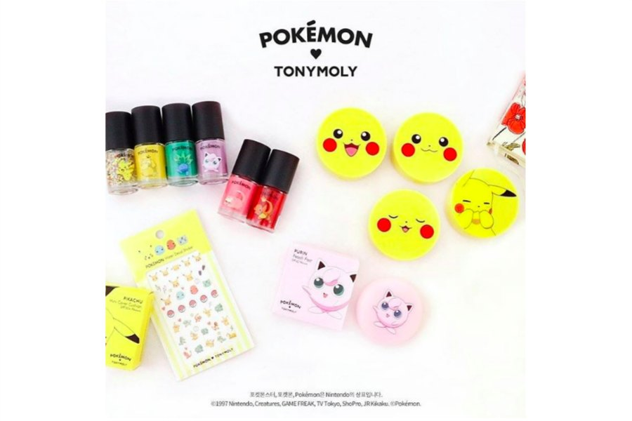 Holy mother of Pikachu, there's Pokémon makeup!