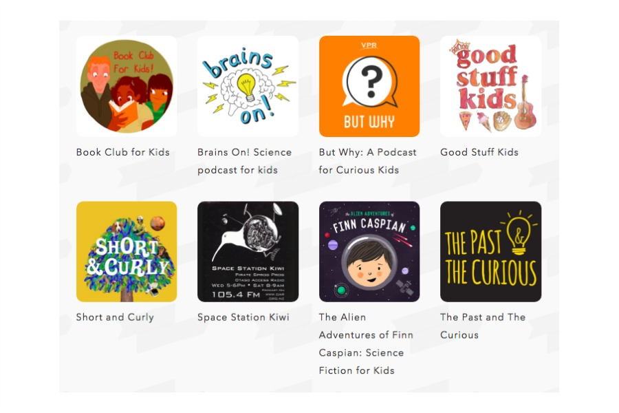 Kids Listen makes it super easy to find the best podcasts for kids