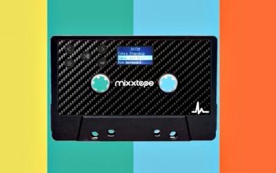 Tubular '80s redux alert: Mixxtape brings mixtapes into the Bluetooth era.