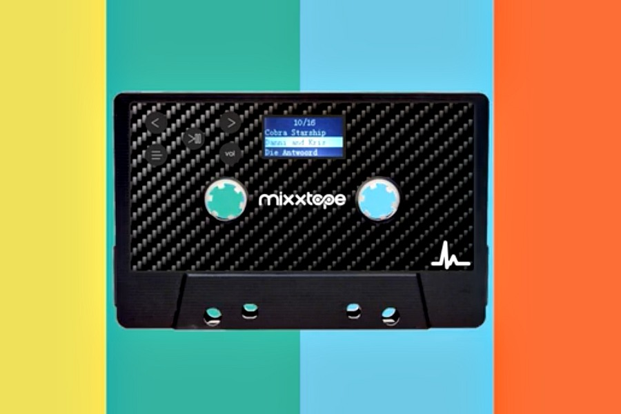 Tubular '80s redux alert: Mixxtape brings mixtapes into the Bluetooth era.