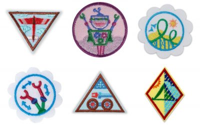 The new Girl Scout STEM badges: Engineering, computer science, and robotics, oh my!