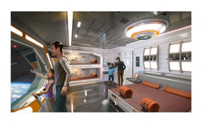 A Star Wars hotel is coming. And it looks like… Westworld?