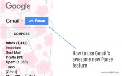 Inbox Pause: The new amazing new Gmail feature that can get you more work-life balance.