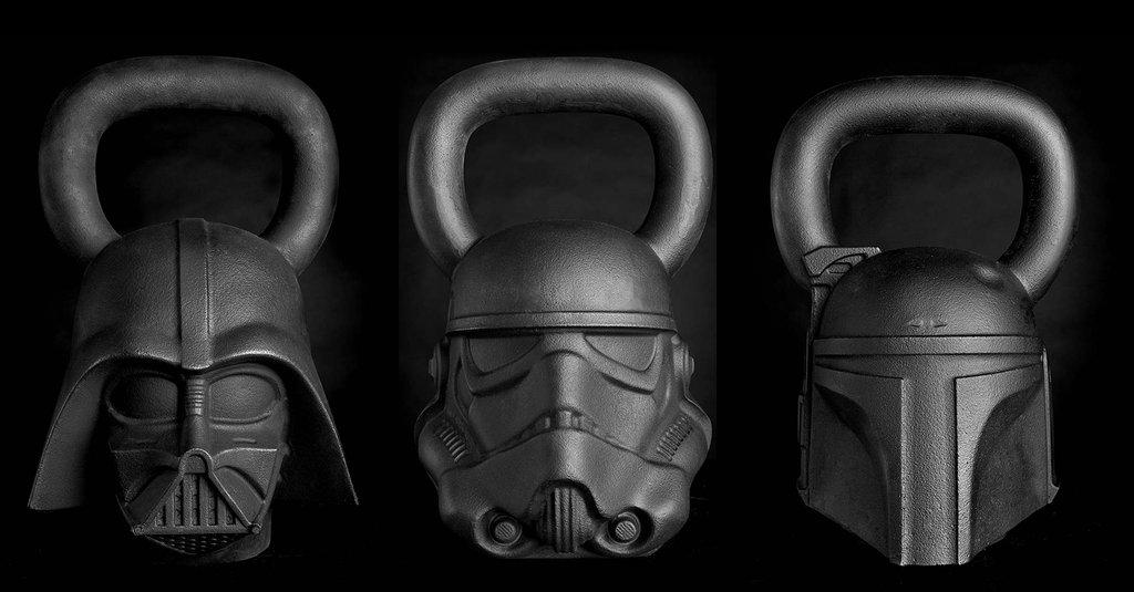 Star Wars kettlebells at OnIt
