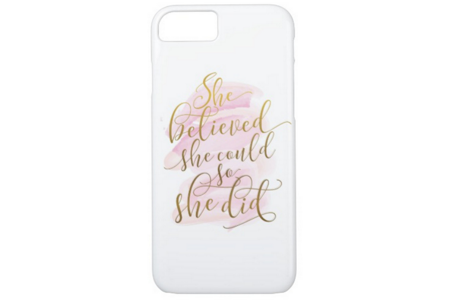 iPhone 8 Cases: She Believed She Could