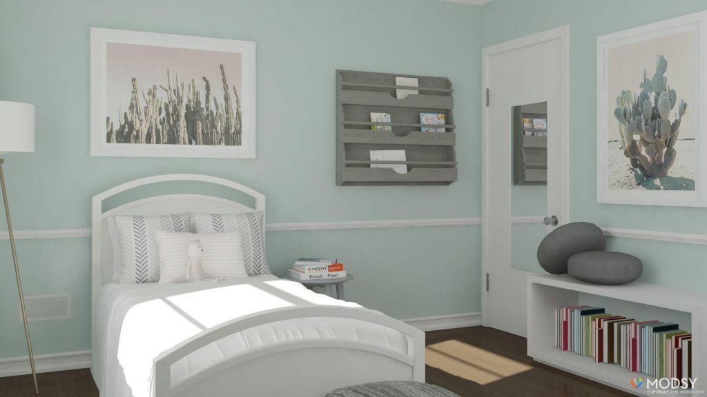 Modsy: Nursery redesign | After photo