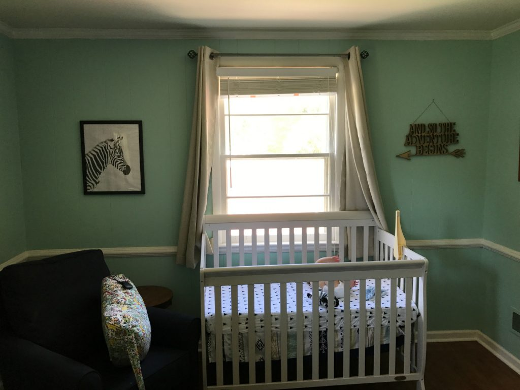 Modsy: Nursery redesign | Before photo