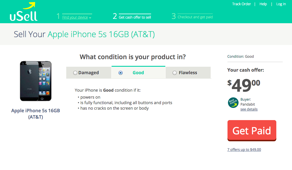 How much you can get for your old iPhone: uSell
