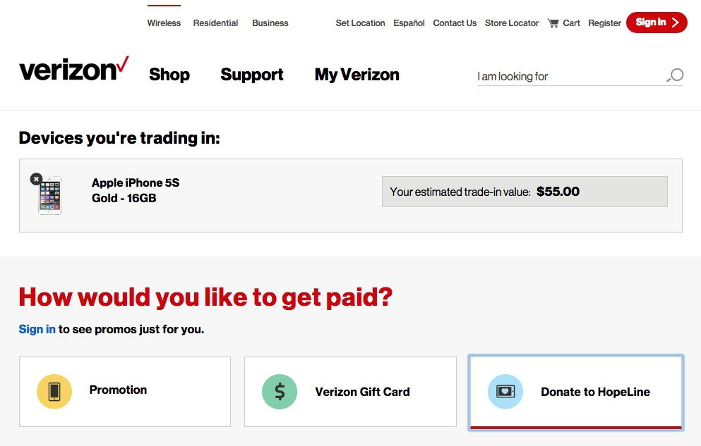 How much can you get for your old iPhone: Verizon trade-in