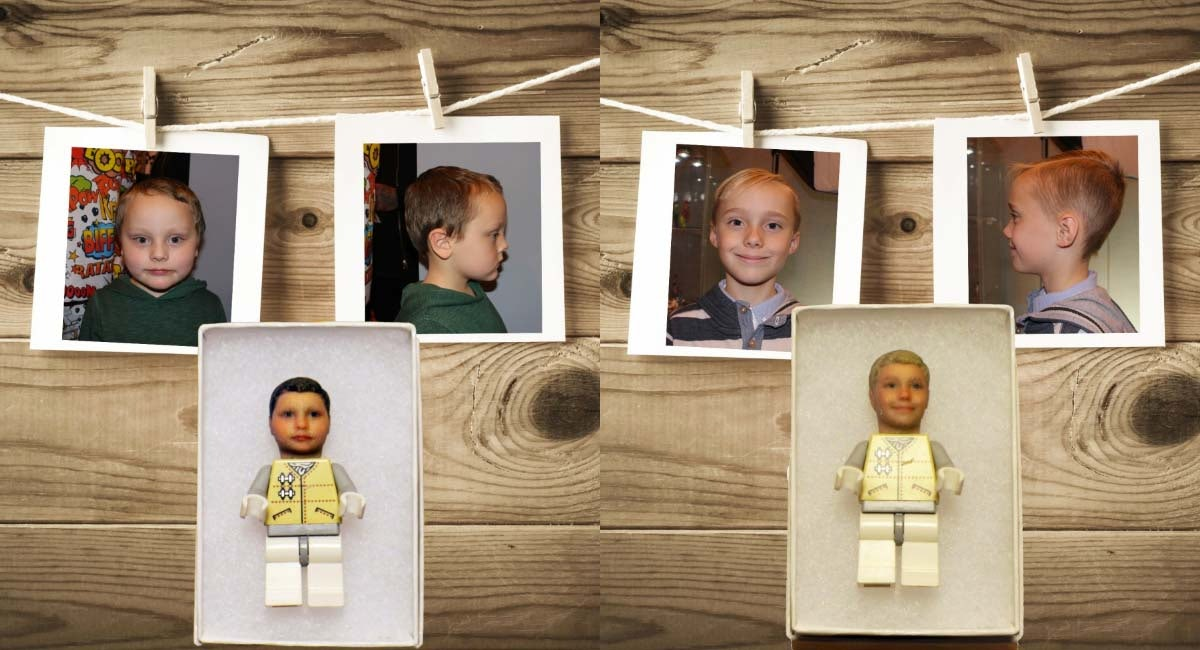 You can now buy LEGO minifigures that look like your kids   Funky3DFaces