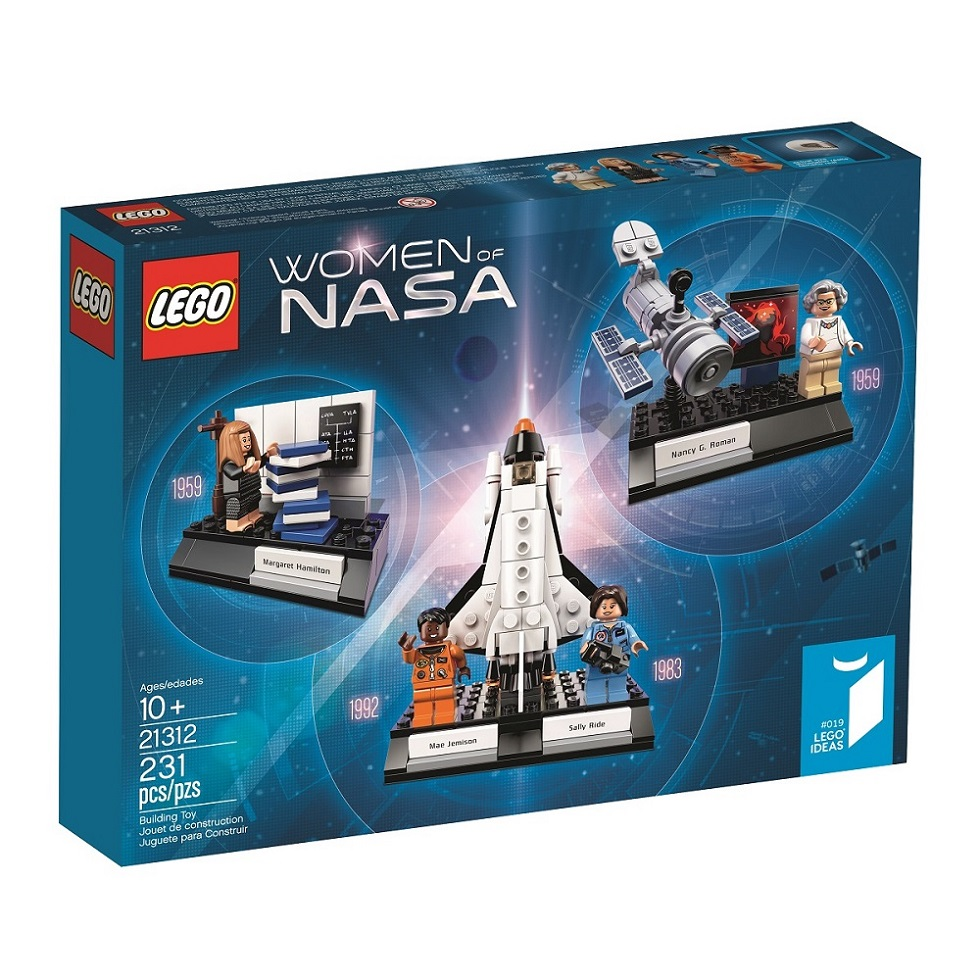 The Women of NASA LEGO set is coming! Because the present is female, too.