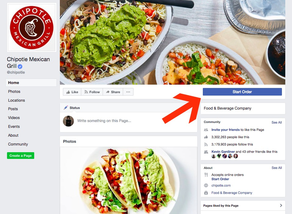 How to order food right on Facebook | Cool Mom Tech