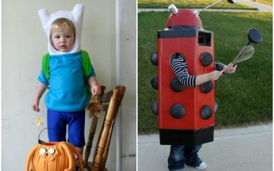 11 geeky Halloween costumes for kids. Parenting done right.