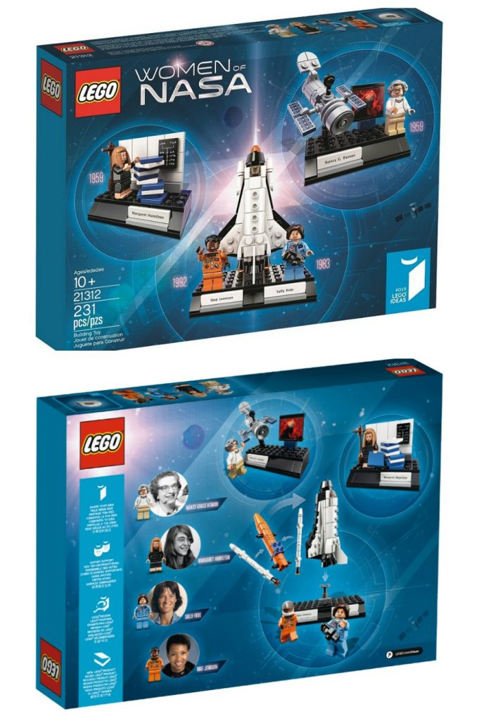 Women of NASA LEGO set coming out soon!
