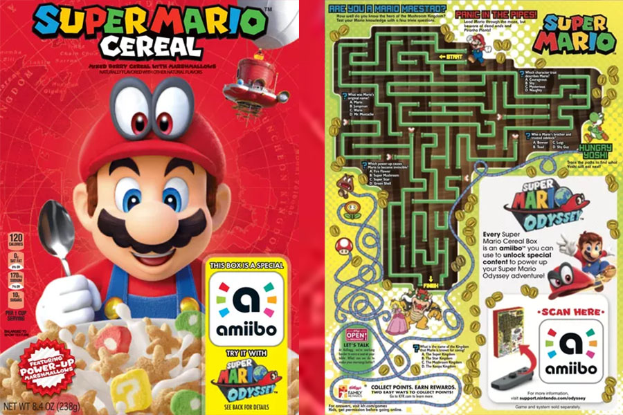 Web coolness: Super Mario cereal, which family pet is smarter, and why we need to ditch glitter.